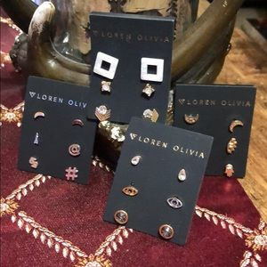Loren Olivia Earrings set